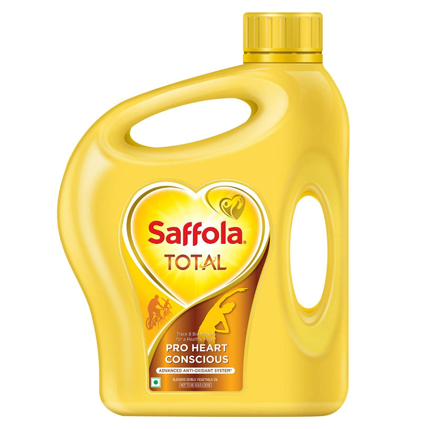 Saffola Total Oil Jar, 2L