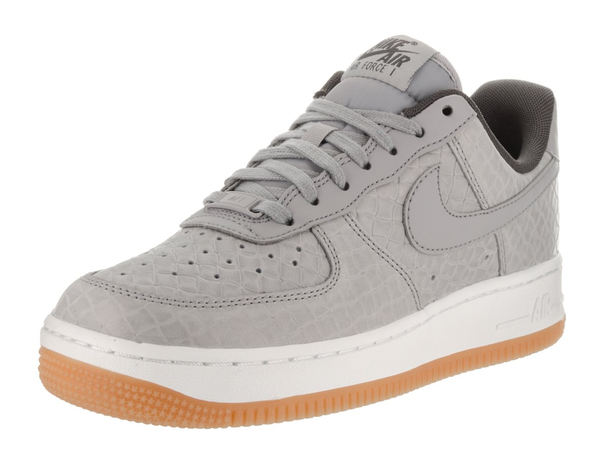 NIKE Women's Air Force 1 '07 PRM Wolf Grey/Wolf Grey Basketball Shoe 7 Women US