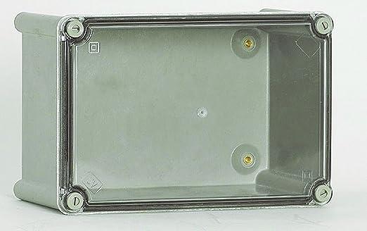 Cahors ROC84PT Caja Poliester Tapa Transparente, IP66, Cuerpo Poliéster - Tapa policarbonato: Amazon.es: Industria, empresas y ciencia