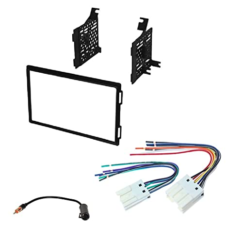 Amazon.com: New Double 2 DIN CAR Stereo Radio Dash Installation Trim on car wiring supplies, leather dog harness, car stereo sleeve, car stereo with ipod integration, car fuse, car speaker, car stereo cover, car stereo alternators, 95 sc400 stereo harness,
