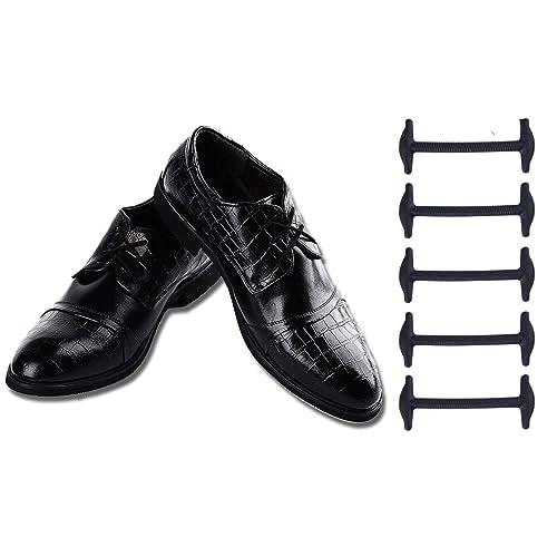 Coolnice Lacci Elastici No Tie Lacci per Scarpe Adulti Donna Uomo Pizzo  Elastico Impermeabile in Silicio f61a8455ff1