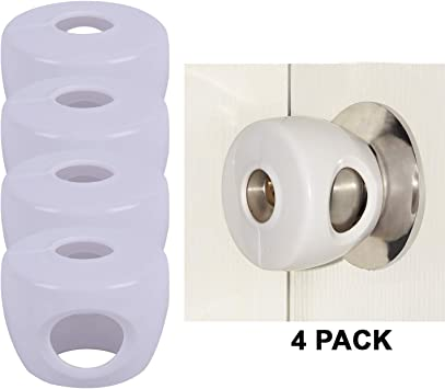 Safety 1St No Drill Door Lever Handle Lock Child Kids Baby Security Protection