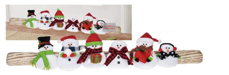 Ganz Cozy Christmas Door Draft Stopper EX26719