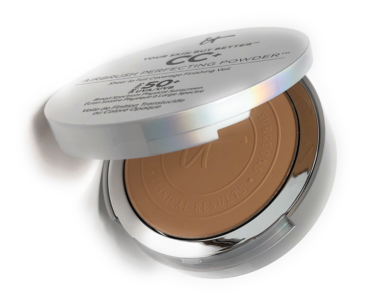 It Cosmetics Your Skin But Better CC+ Airbrush Perfecting Powder SPF 50+ Medium by IT Cosmetics