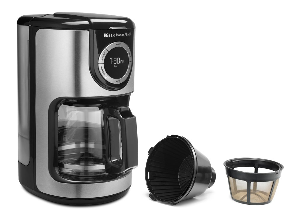 KitchenAid KCM1202OB - Cafetera (Independiente, Cafetera de filtro ...