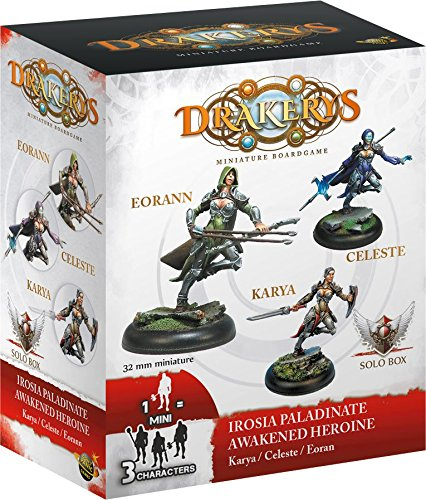 / drakerys/  / Heroes/  / Set of 3/ Action Figures/  Dont Panic irsb2401/ Games/  / Solo/  / The Paladins irosia Don/'t Panic Games