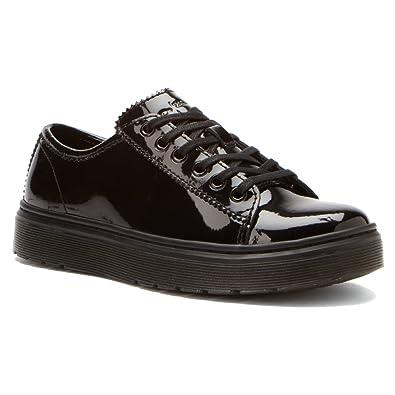 Dr Martens Spin Patent Lamper Black Patent Shoes UK: 9.0 Euro: 43.0