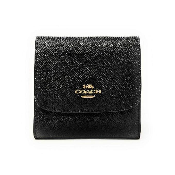 Amazon.com: Coach cartera en piel crossgrain, f87588: Clothing