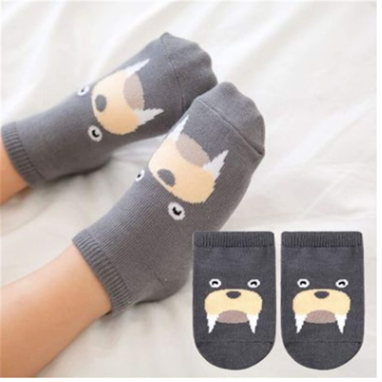 socks kids girl boy baby socks cotton cartoon animal autumn and winter socks