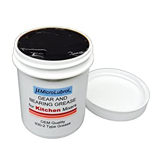 6 oz MICROLUBROL Kitchen Stand Mixer Gear & Bearing Grease 4176597 Benalene 930-2, Made in USA, Enough for One Repair