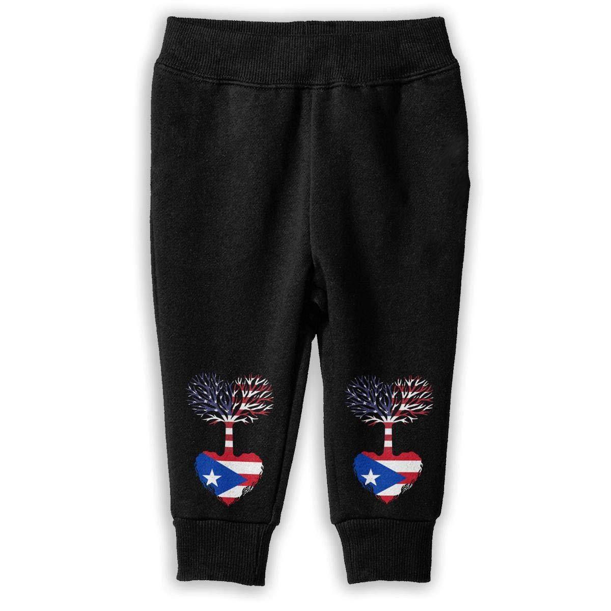 American Grown Puerto Rico Root Sweatpants Toddler Athletic Pants