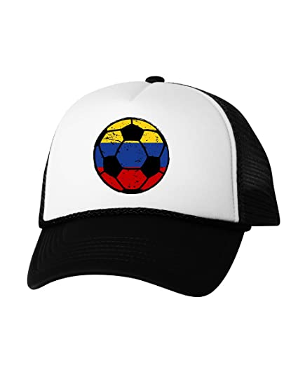 Vizor Colombia Baseball Hat Colombia Soccer Hat Colombia Hat Colombia Soccer  Team Black One Size 877f9f0cf2b
