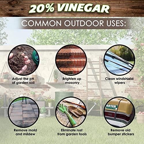 20% Vinegar | Industrial Strength Natural Vinegar | Multi Purpose - 5 Gallon Pail by Green Gobbler (Image #4)