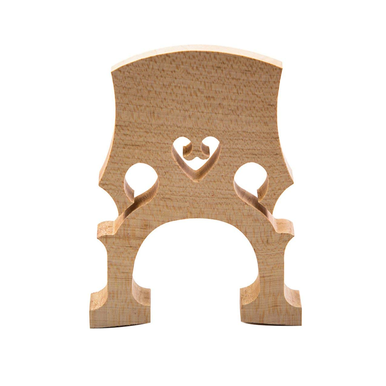 1 Pc Exquisite Cello Bridge 1/2 Madera de arce de calidad superior Accesorios para violonchelo profesional Redstrong