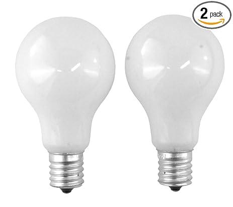 SYLVANIA 40 Watt A15  White  Ceiling Fan Bulbs   Intermdiate Base 2
