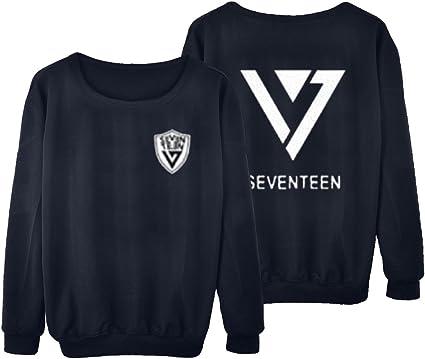 babyHealthy Kpop Seventeen 17 Sweater Vernon Woozi Wonwoo Pullover Sweatshirt