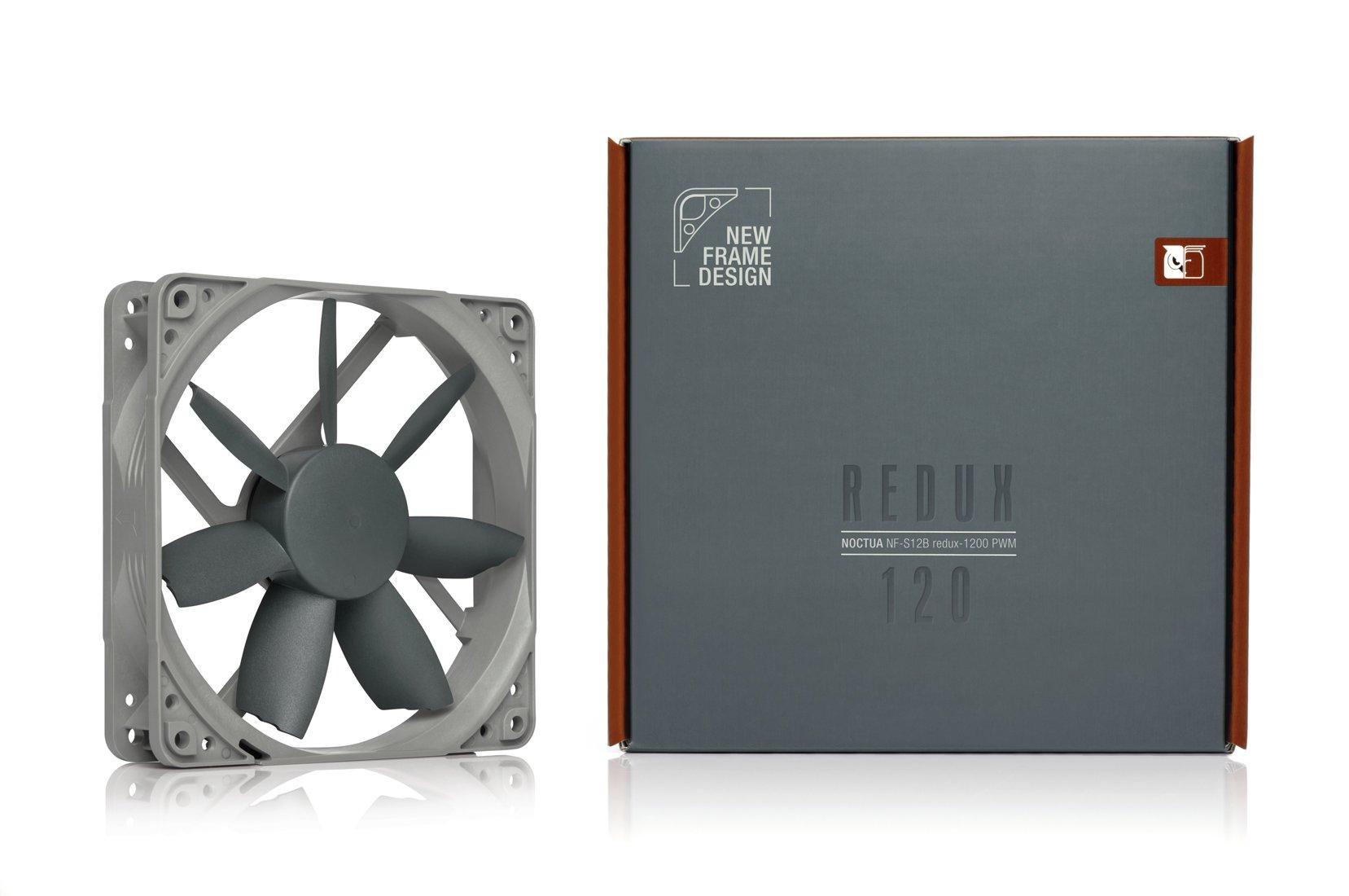 Noctua SSO Bearing Fan Retail Cooling NF-S12B redux-1200 PWM by noctua (Image #4)