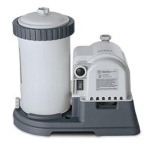 Intex 28633EG Krystal Clear Cartridge Filter Pool Pump