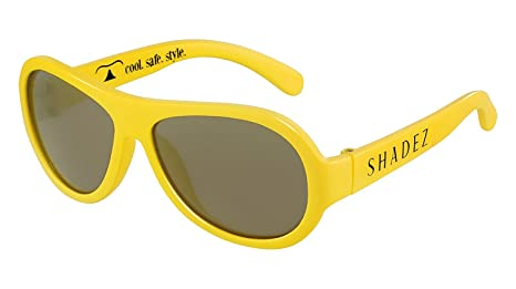 Shadez YJ Gafas de Sol, Yellow Junior, 45 Unisex-niños ...