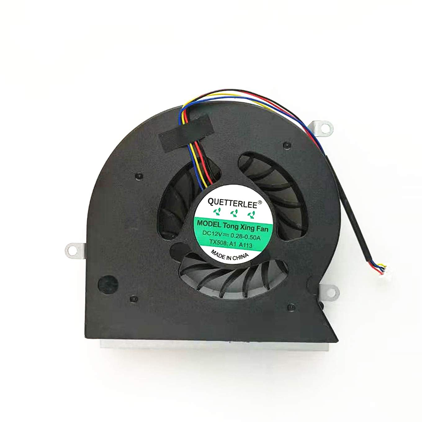 QUETTERLEE Replacement New Laptop Cooling fan for MSI GT62 GT62VR GT62 6RD 6RE 7RE MS-16L1 MS-16L2 MS-16L3 Terrans Force S5 S6 S5-A1 cooling fan cooler PABD19735BM N322 N395 fan