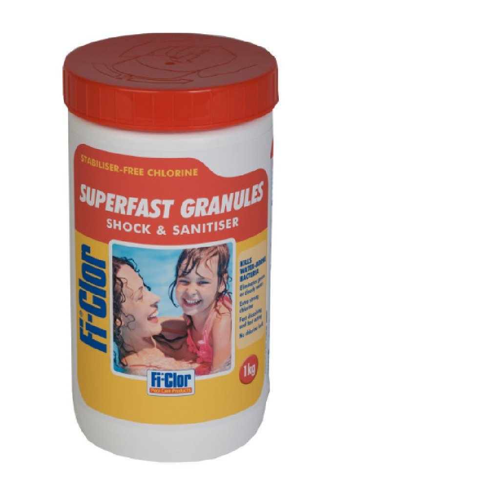 Fi-clor Swimming Pool Superfast Shock Granules 1kg