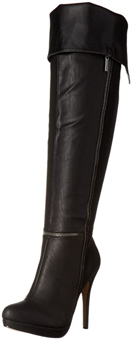 Michael Antonio Women's Wynni Western Boot, Black, ...