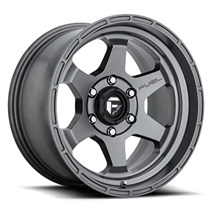 Fuel Wheels 20x9 >> Amazon Com 20x9 Fuel Offroad Wheels Shok D665 6x139 7 19 Offset