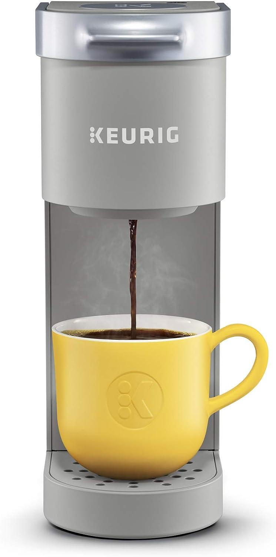Keurig Maker Single Serve K-Cup Pod Coffee Brewer, 6 to 12 Oz. Brew Sizes, Studio Gray