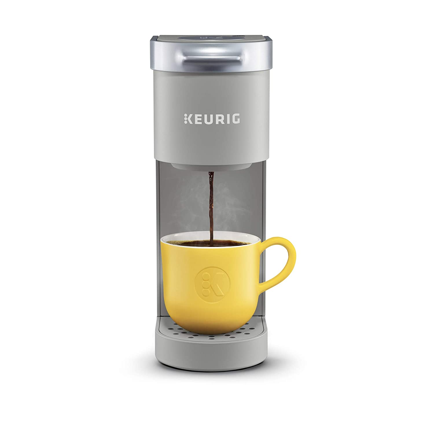 Keurig K-Mini Single Serve Coffee Maker, Studio Gray