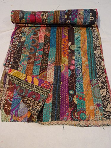 Tribal Asian Textiles Embroidered Bedspread product image
