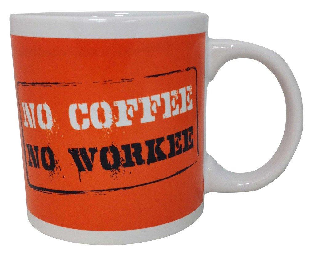 Giant Funny 22oz Coffee Mug ~ No Coffee No Workee island dogs B00LV8OQI2 No Coffee No Workee