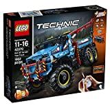 LEGO Technic 6x6 All Terrain Tow Truck Building Kit, 1862 Piece