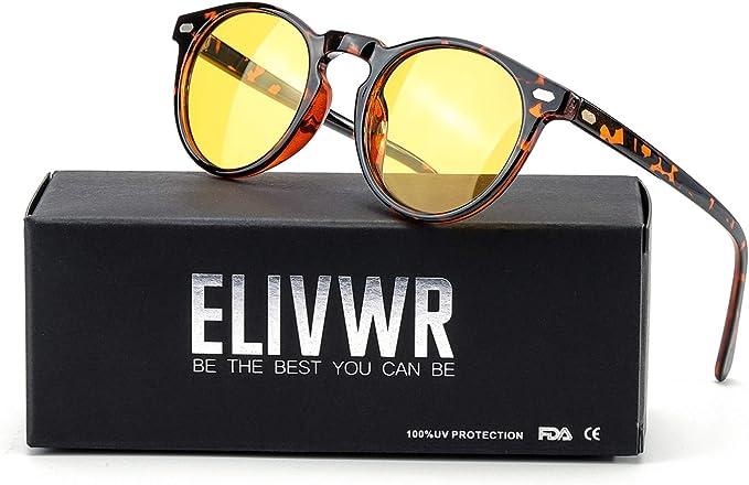Night Vision HD Driving Glasses UV 400Protection Polarized Lens Unisex UK Bset