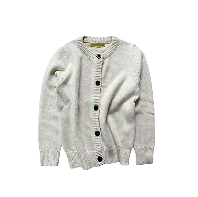 Cromoncent Girls Cute Knit Pullover Boys Jumper Cotton Sweater