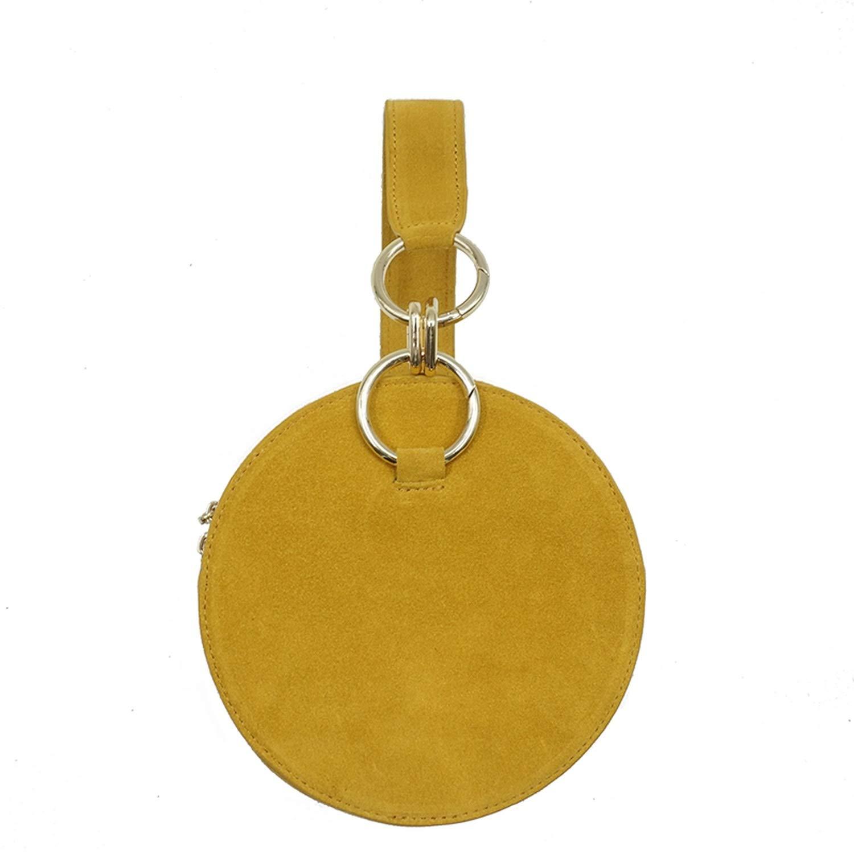 Round Clutch Bag Casual...