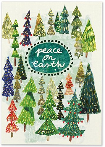 Festival of Trees Small Boxed Holiday Cards (Christmas Cards, Greeting Cards)