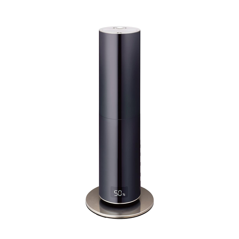 【あすつく】 クレベリン 加湿器 ブラック ハイブリッド式 クレベリンLED搭載 ミラー ブラック ブラック KMHS-701C BK ミラー ブラック B0751GD9ST, 志摩市:5350544e --- irlandskayaliteratura.org