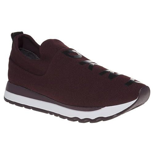 Dkny Jadyn Slip On Mujer Zapatillas Granate: Amazon.es: Zapatos y complementos
