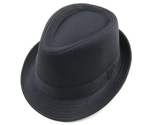 La Sra Masculina Primavera Y Verano Sombrero Del Jazz Vintage Gorros Sombreros De Algodón Casquillo ...