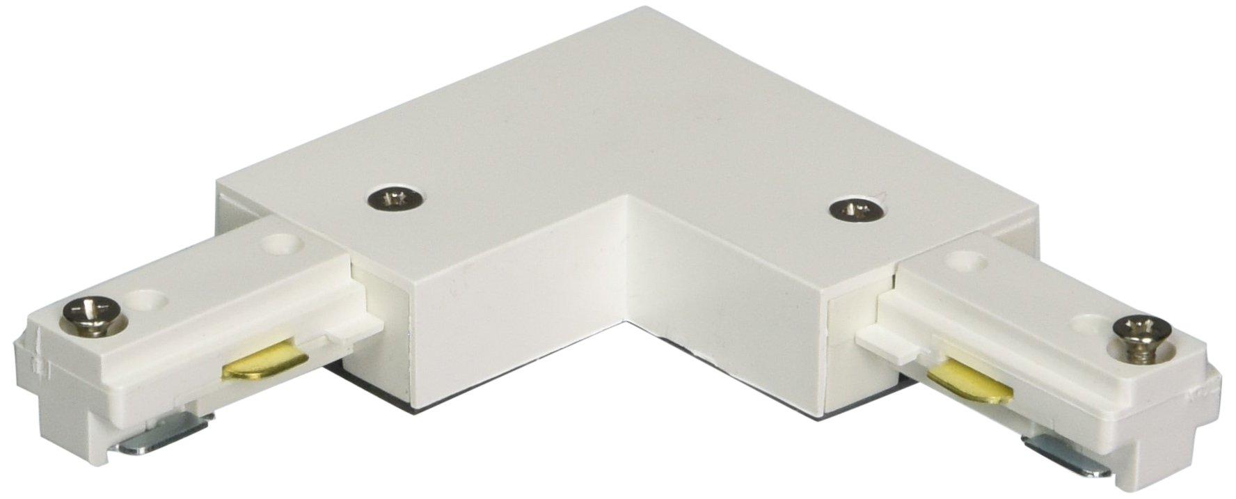 Halo L904P L Connector, Single Circuit, White