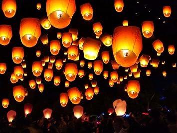 Mixtos AREA Sky farolillos Chinos voladores de Colores