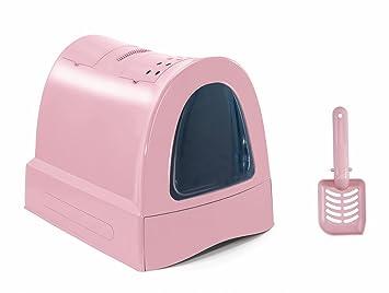 Imac 5-83486 WC Gatos Zuma, 40 x 42.5 x 56 cm, Rosa: Amazon.es: Productos para mascotas