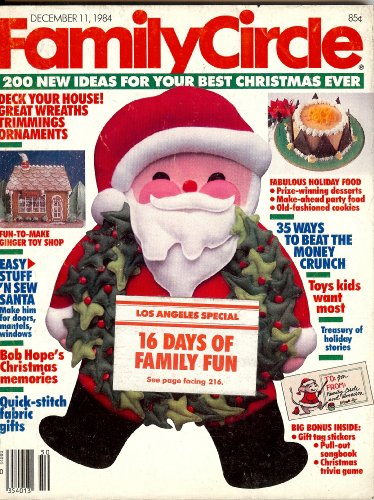 Family Circle Magazine (200 New Ideas for Your Best Christmas Ever) (Magazine Circle Family Christmas)