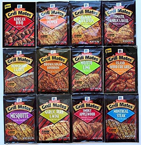 - McCormick Grill Mates Special 12 (Marinades,Seasoning Mix & Rubs)