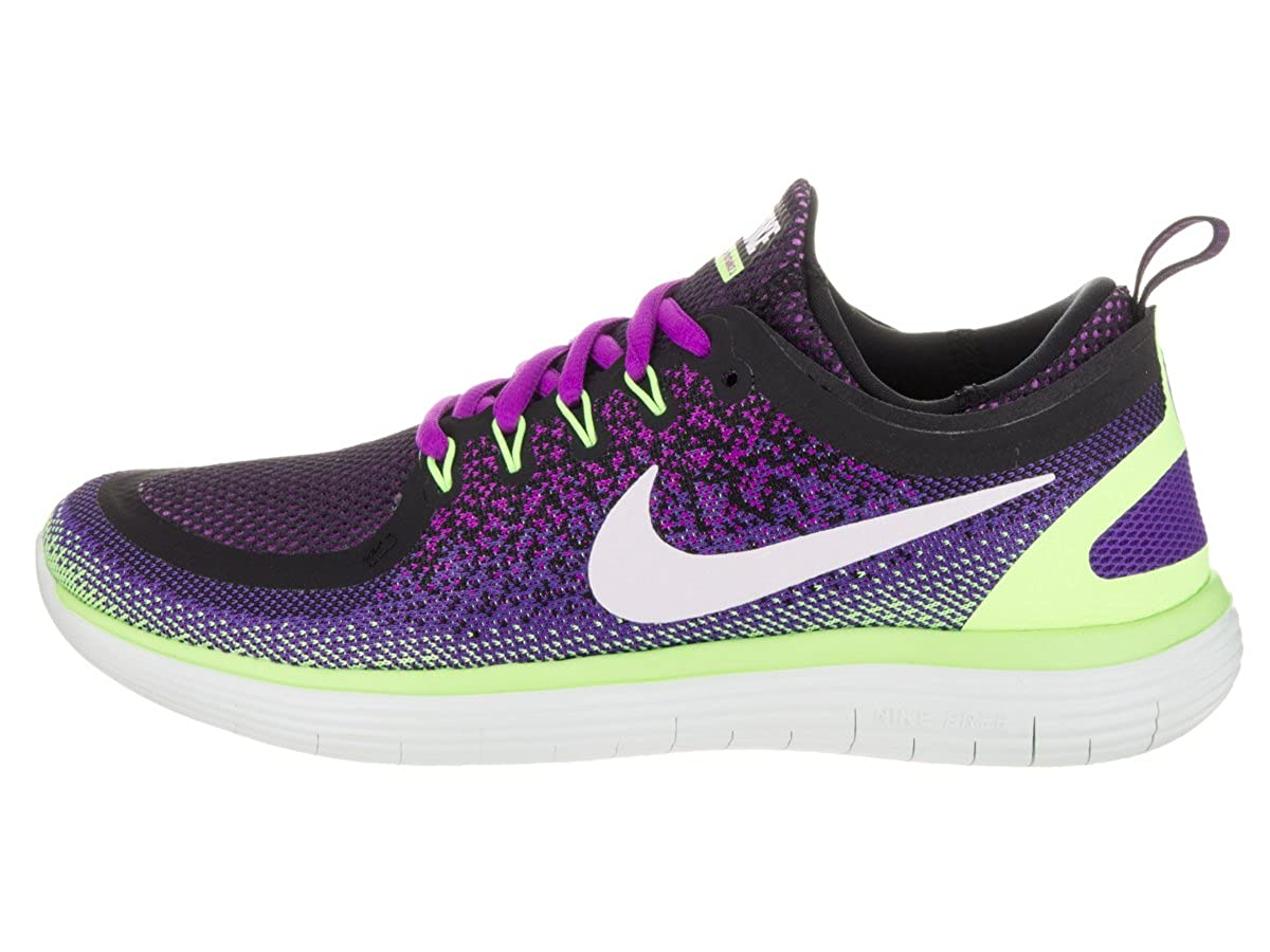 Amazon.com | Nike Womens Free Rn Distance 2 Hyper Violet/White Dark Iris Running Shoe Size 7.5 | Road Running