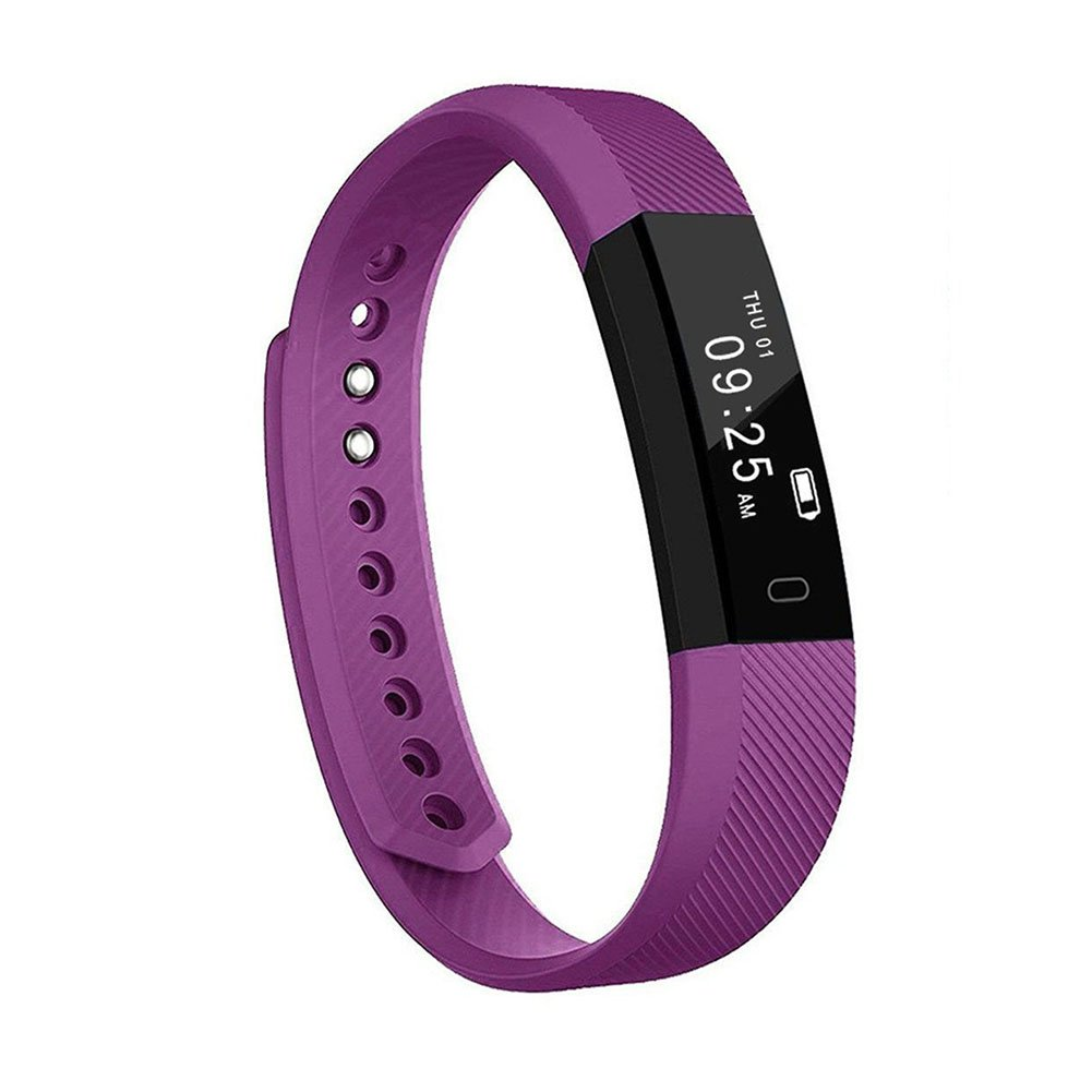 Heckia Fitness Tracker Watch, Health Activity Tracker with Pedometer Step Counter Calorie Counter Sleep Monitor and Smart Wristband for Android iOS Phones
