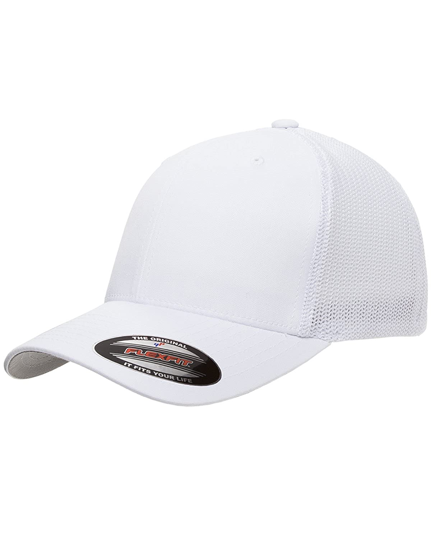 Amazon.com  Dodge Ram Rebel Pickup Truck Classic Outline Design Flexfit  Trucker Trucker Hat Cap Black  Clothing 30067c8978fe