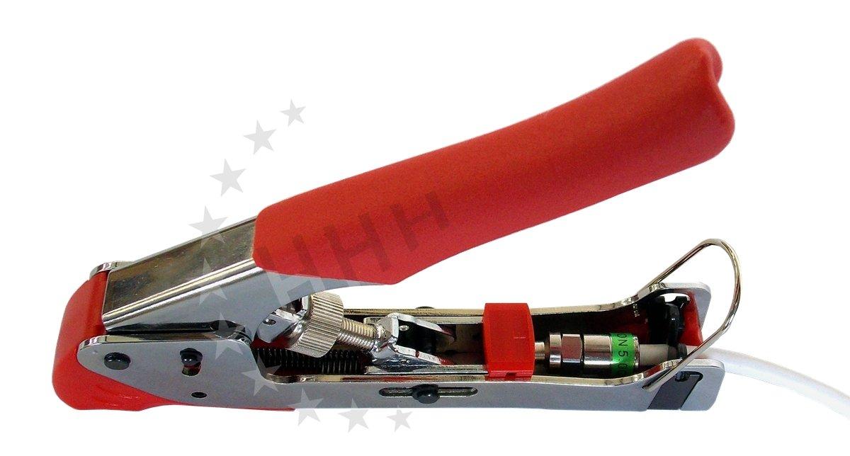3H-CTU06 Universal Compression Tool/F -, BNC y RCA (Cinch) herramienta de presión/pinzas de compresión para mini/Short/RG6: Amazon.es: Electrónica