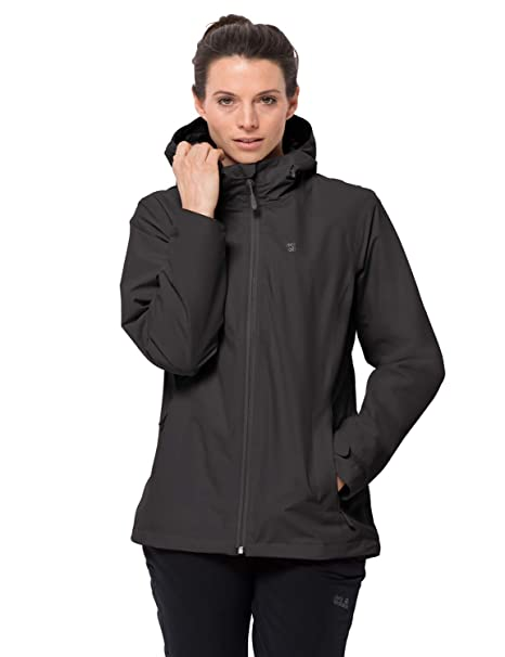 Jack Wolfskin Womens Norrland 3-in-1 W Waterproof Insulated Jacket