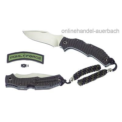 Pohl Force Bravo One Outdoor Gen3 Couteau de survie